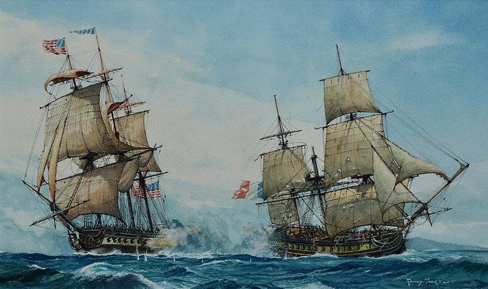 RONNY MOORTGAT | USS Constellation vs L'Insurente