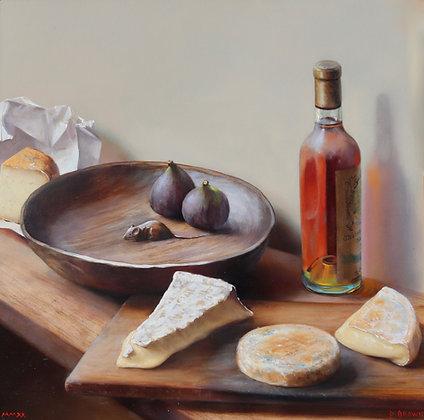 PAUL S. BROWN | Fromage avec Sauternes