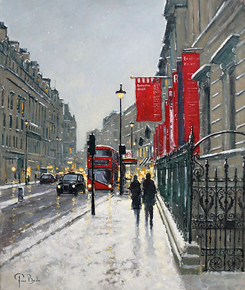 PETER VAN BREDA | Snow, Burlington House, London