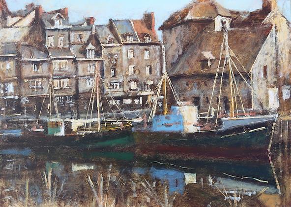 CLIVE MCCARTNEY | Boats at Honfleur