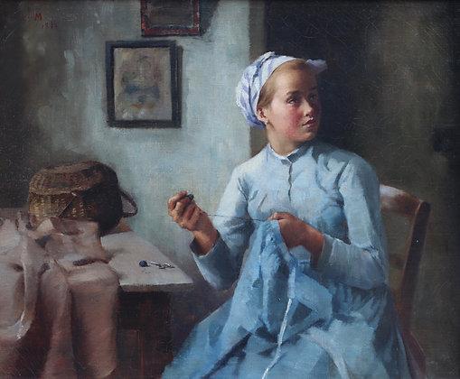 DANISH SCHOOL   A Stitch in Time