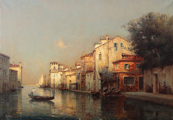 AUGUSTE BOUVARD   Venetian Reflections