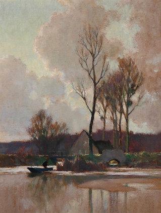 ALEXANDRE LOUIS JACOB | Winter Reflections