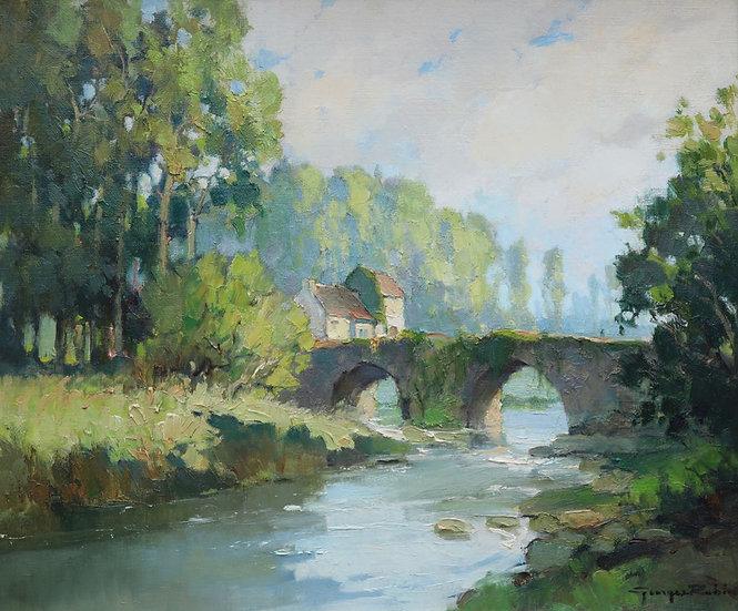 Pont Romain sur l'Indre près de Loches