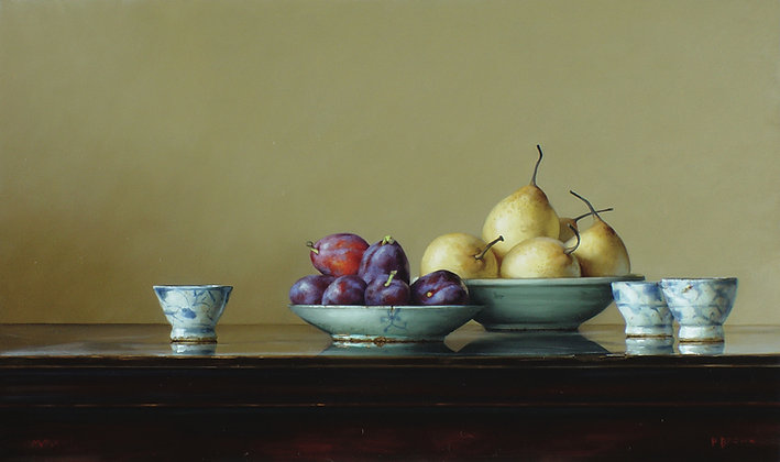 PAUL BROWN | Pears and Plums