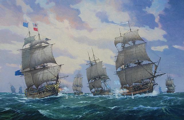 RONNY MOORTGAT | Battle of Quiberon Bay