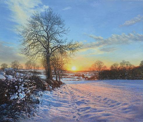 MARTIN TAYLOR   Snow Sunset