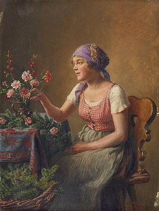 HANS HAMZA | The Flower Girl