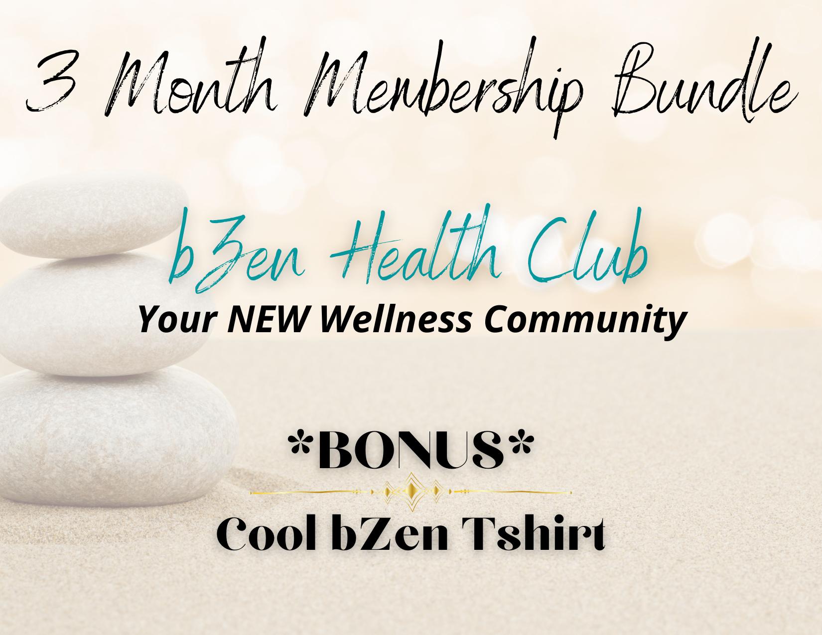 bZen Health Club Launch Promo Bundle