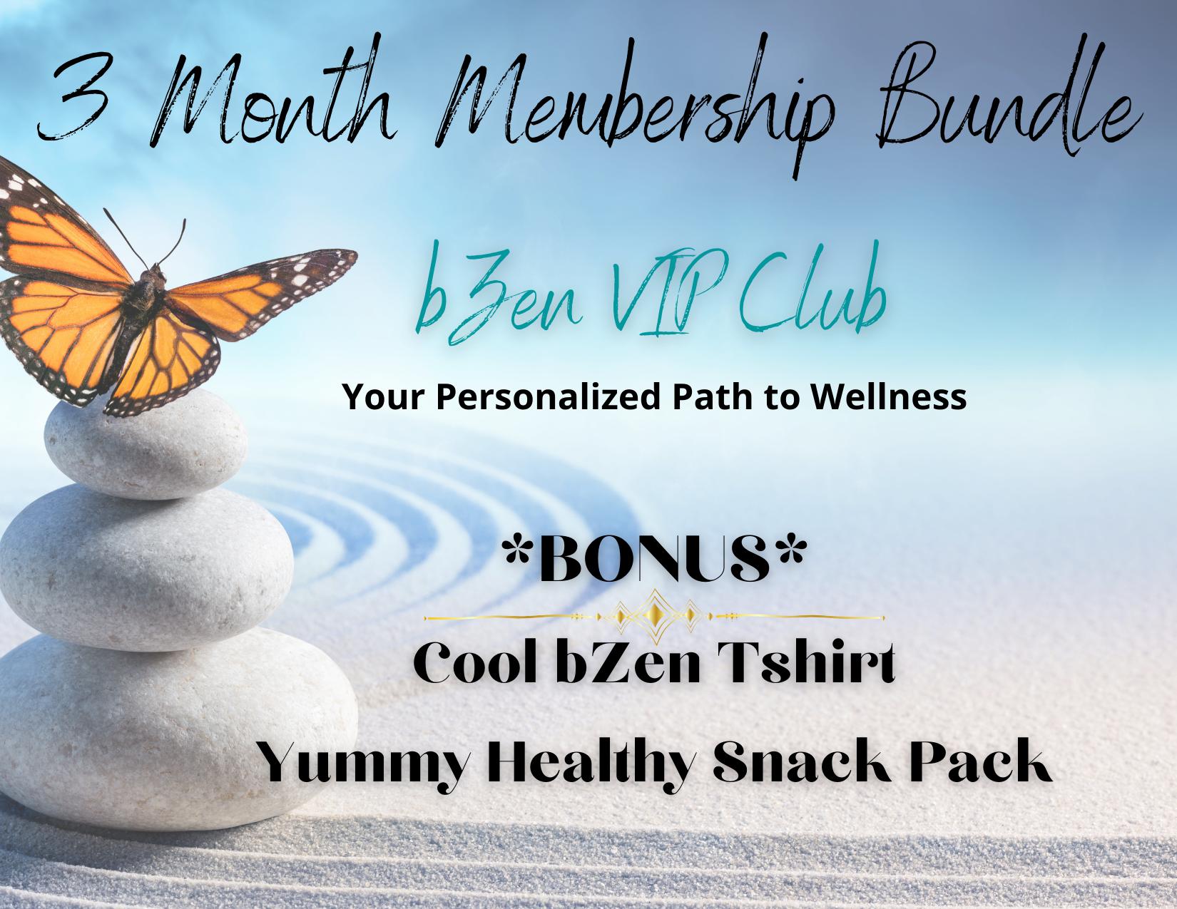 bZen VIP+ Club Launch Promo Bundle