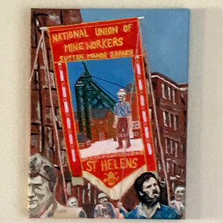 Sutton Manor Colliery Banner (prints available)