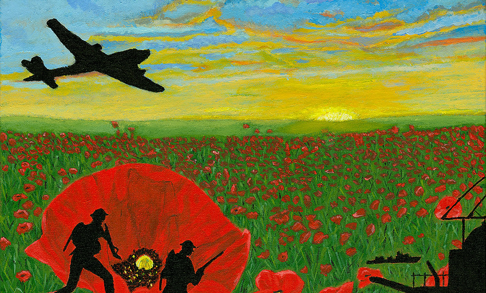 Remembrance Day (giclee print)