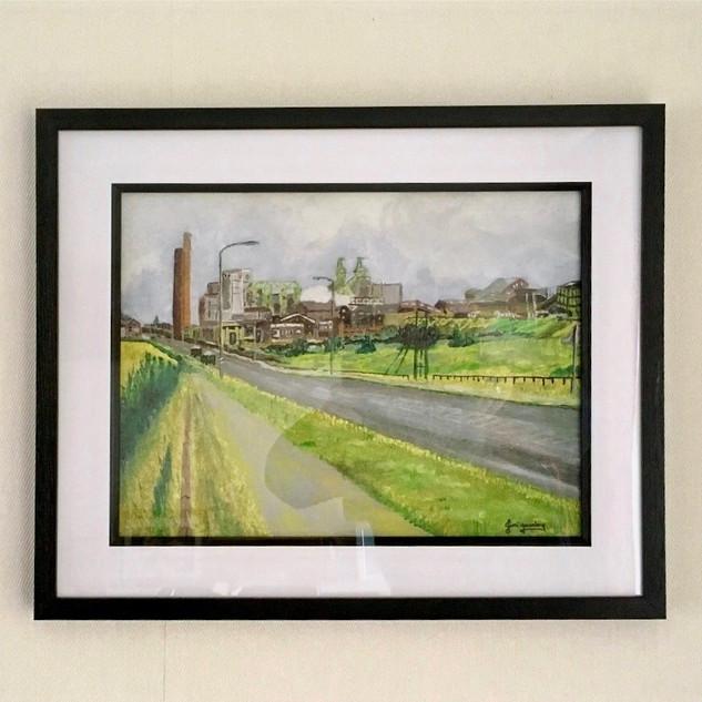 Framed Mining Giclee Prints