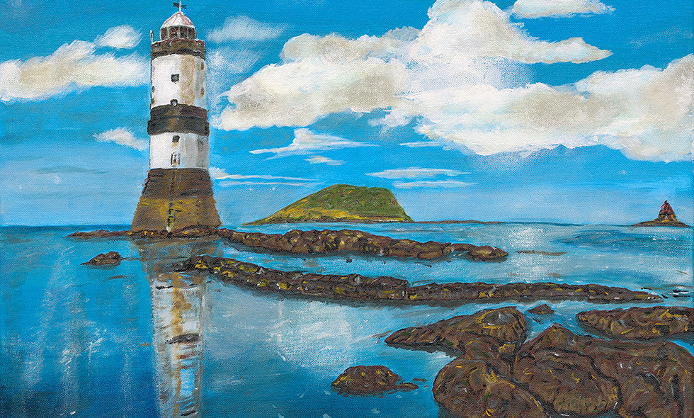 Penmon Lighthouse Giclee print