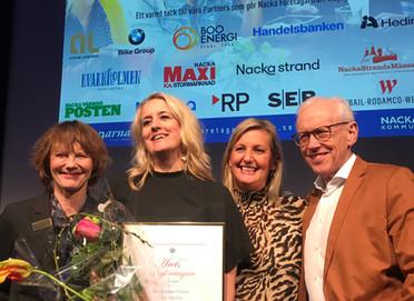 Årets nyföretagare i Nacka 2018!