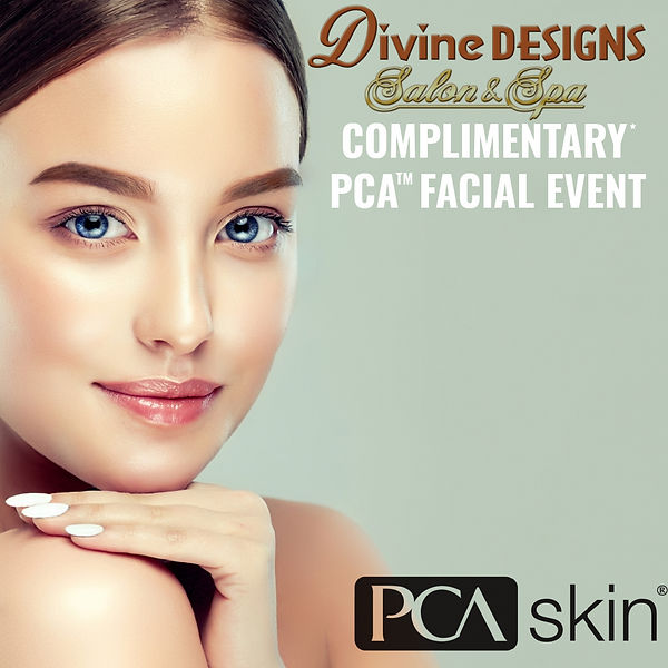 DIVINE SPA PCA FACIAL EVENT