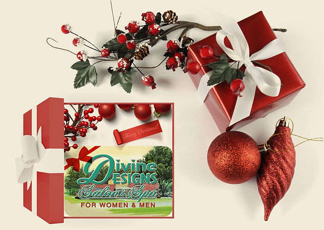 Divine Spa Christmas Gift Cards
