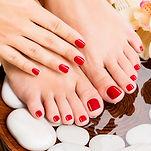 Divine Spa Signature Pedicure Manicure