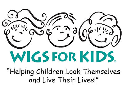 Wigs for Kids Banner