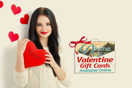 Divine Spa Valentines Day Gift Cards