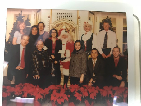 Flashback Friday to the....Festive Business Lunch of Years Gone By