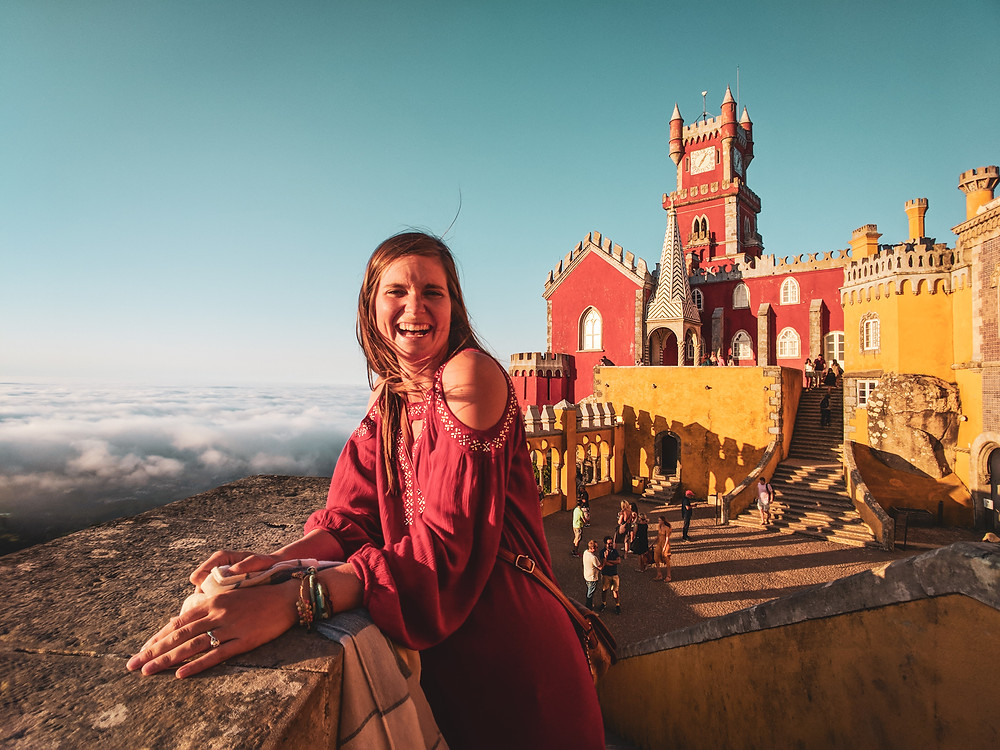 Extra grateful while traveling in Sintra, Portugal.