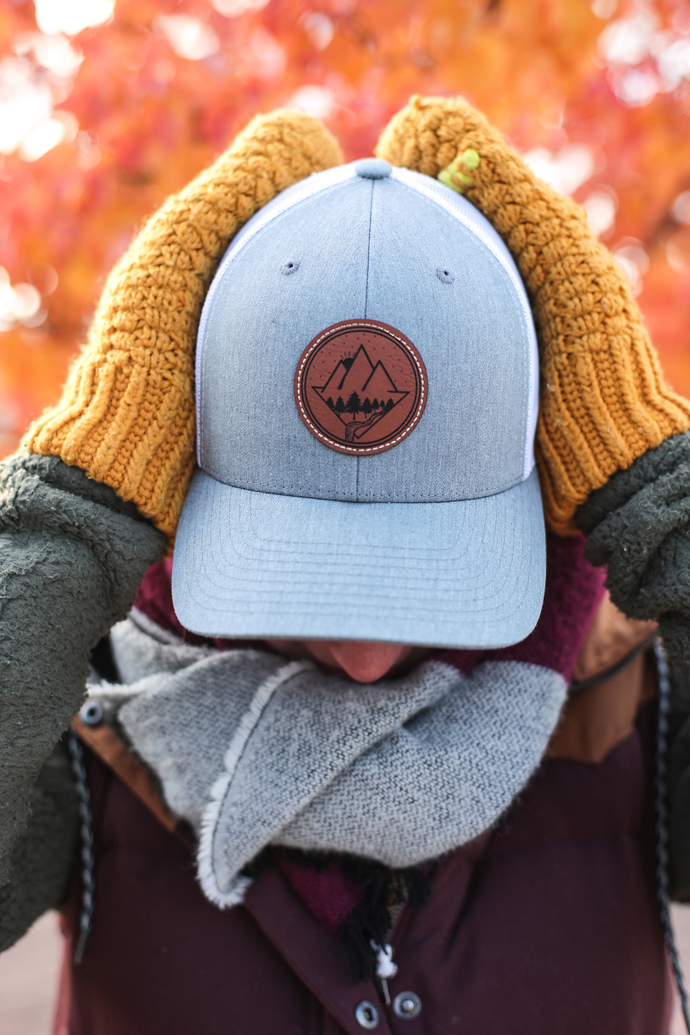 The hats we made are a perfect gift idea for the ultimate adventurer!