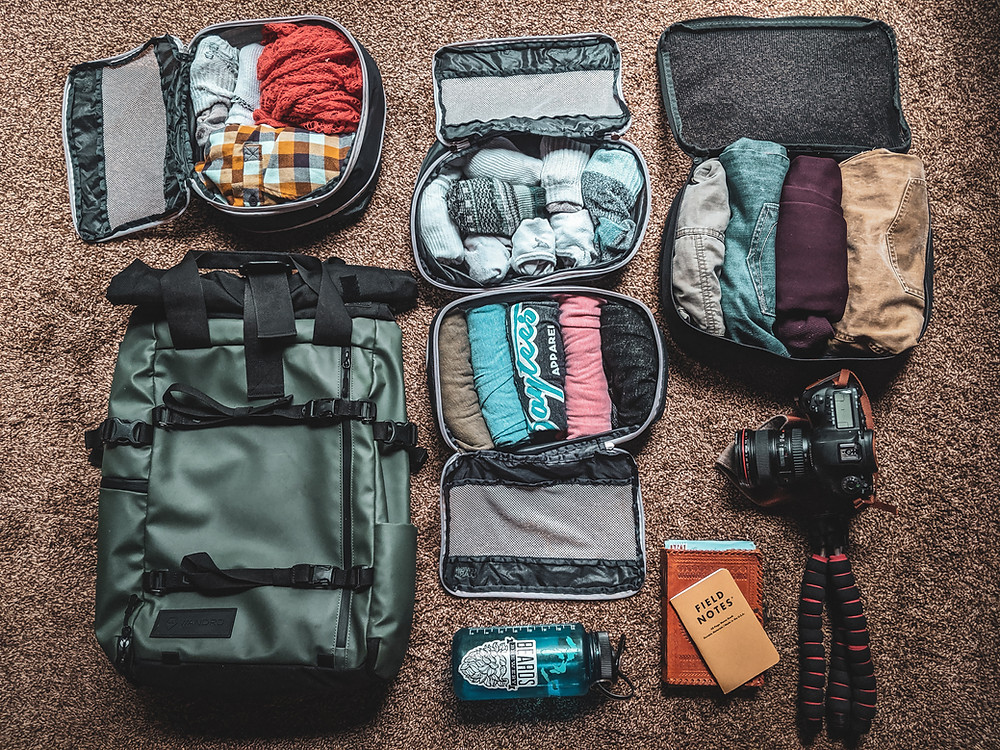Packing cubes are one of my favorite travel accessories.
