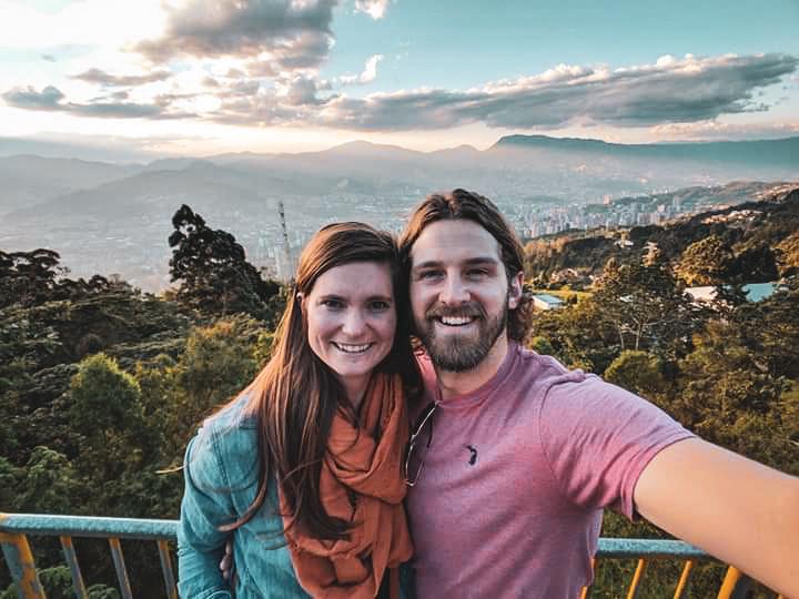 An overlook of Medellín.