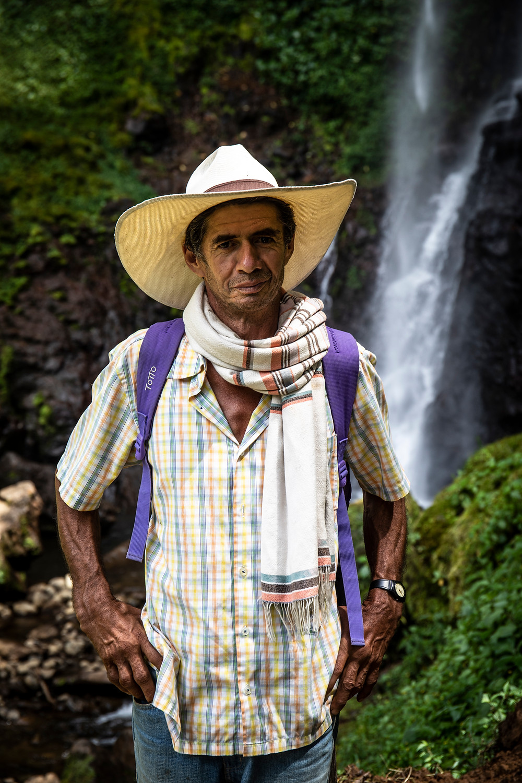 Hiking guide in Jardin, Colombia.