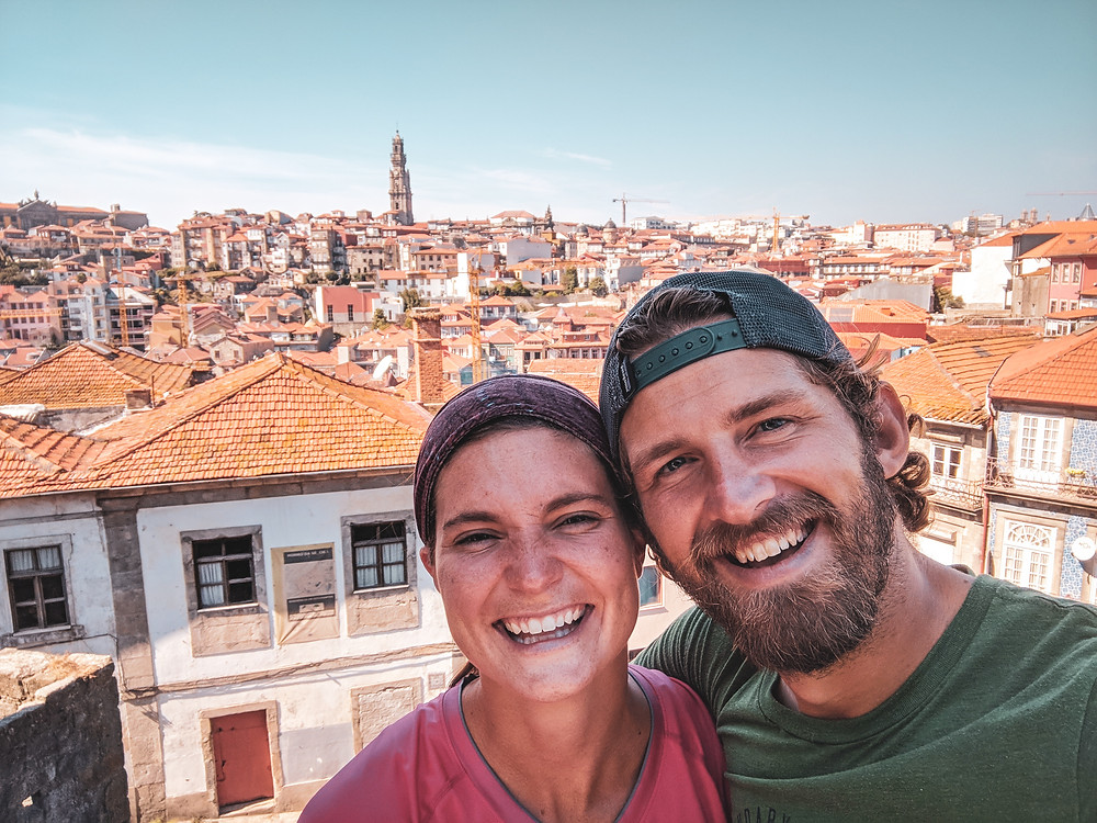 Scott and Steph in Porto, Portugal. We are super thankful for this life we get to live and everything that 2018 was.