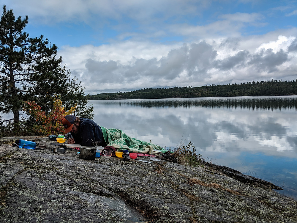 Canada is so close when you travel to visit the Boundary Waters.