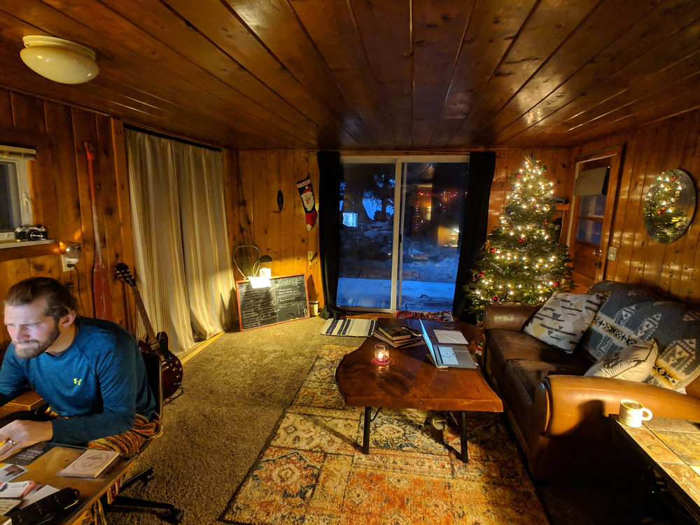 Our small cabin home allows us to be full time travel bloggers and adventurers.