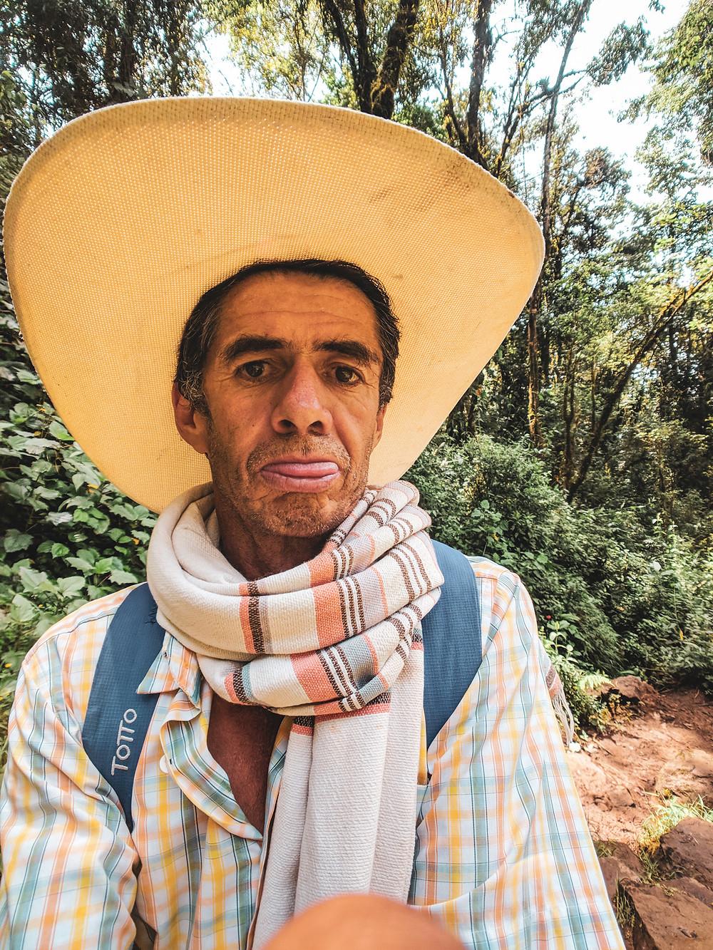 Cowboy in Jardin, Colombia.
