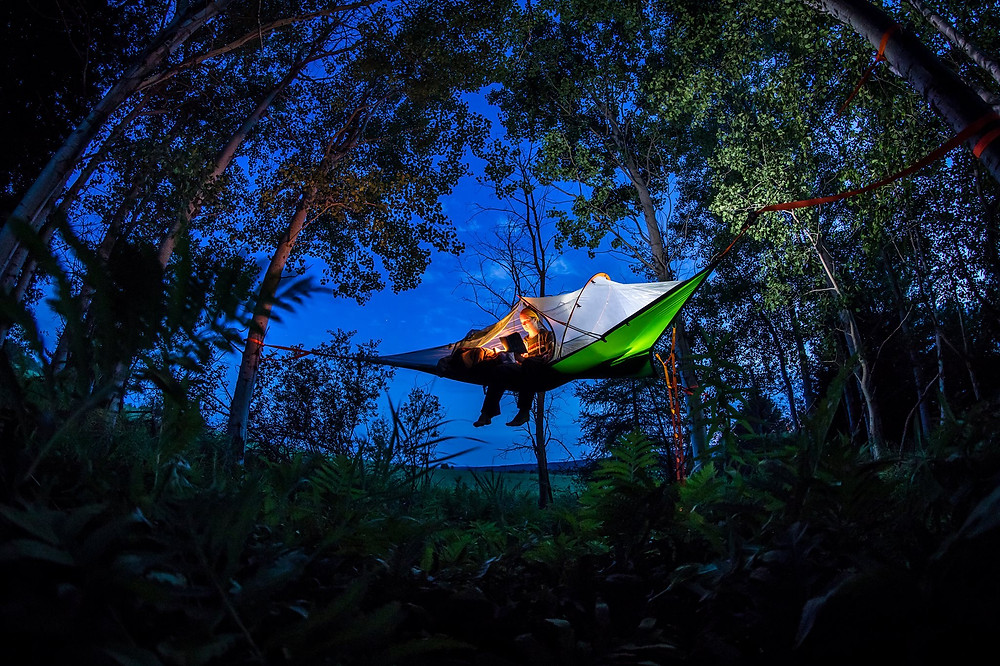 A great gift idea for the ultimate adventurer is the Tentsile.