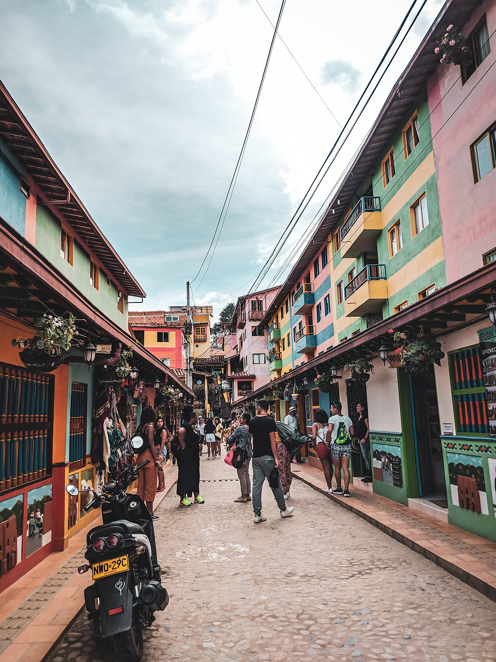 Tourism is becoming more popular because day trips are so easy in Guatapé, Colombia.