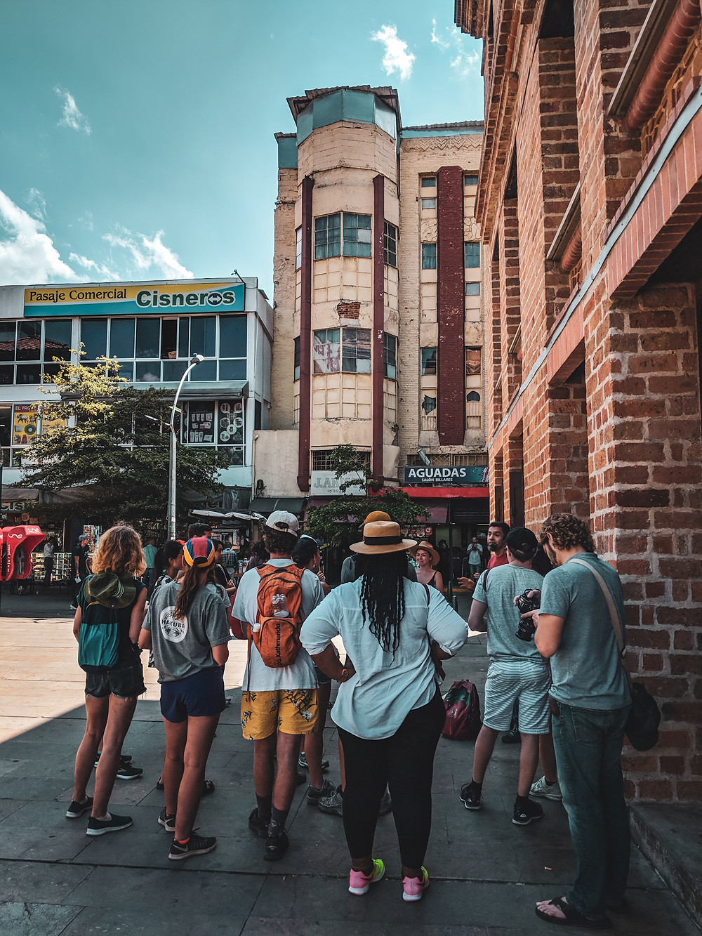 Real City free walking tour in Medellín, Colombia.