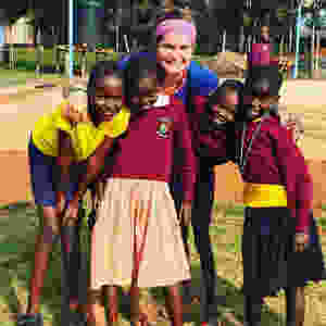 In Kenya with my girls after following my Go. Do. New Year's theme of 2016.
