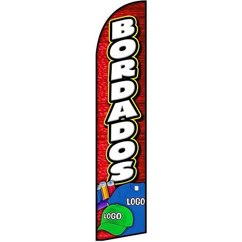 BORDADOS Feather Flag