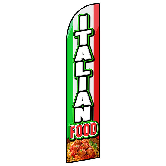 ITALIAN FOOD Feather Flag