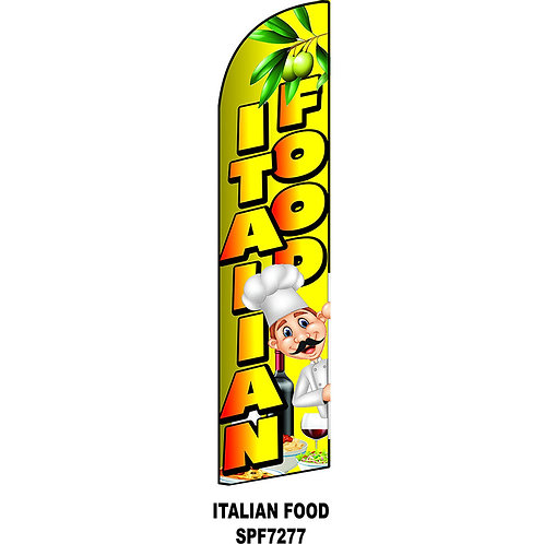 ITALIAN FOOD Feather Flag