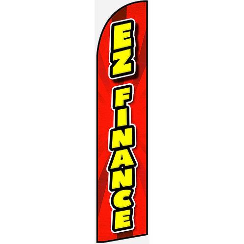EZ FINANCE Feather Flag