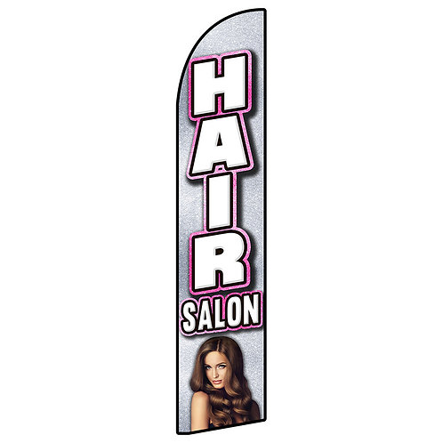 HAIR SALON Feather Flag
