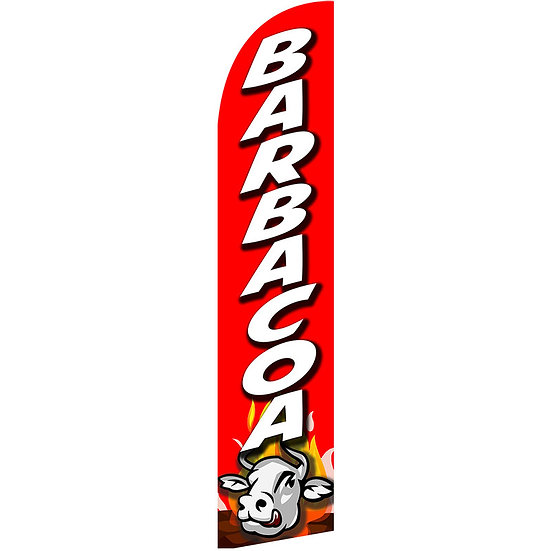 BARBACOA Feather Flag