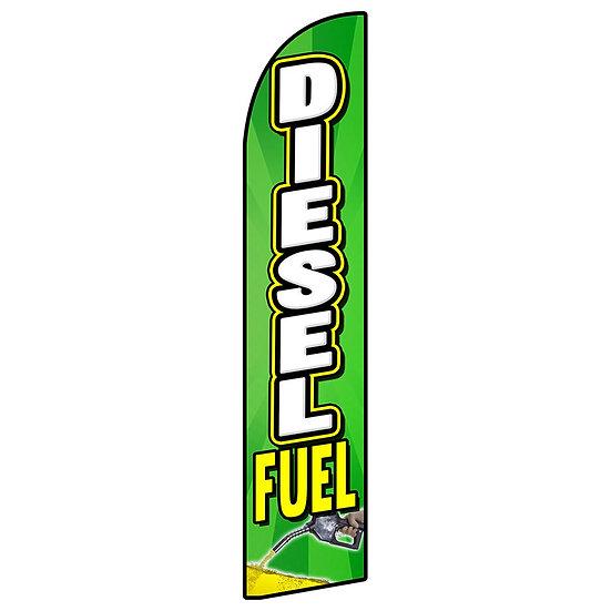 DIESEL DUEL Feather Flag
