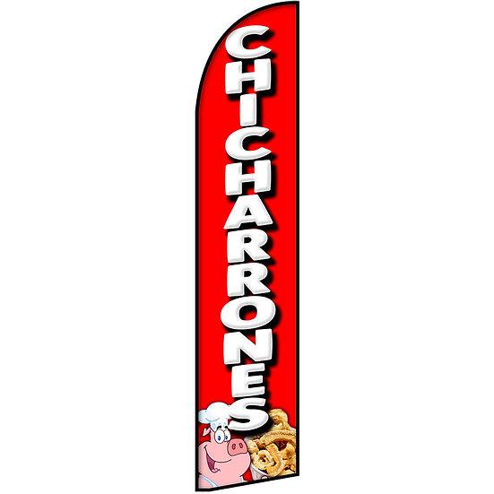 CHICHARRONES Feather Flag