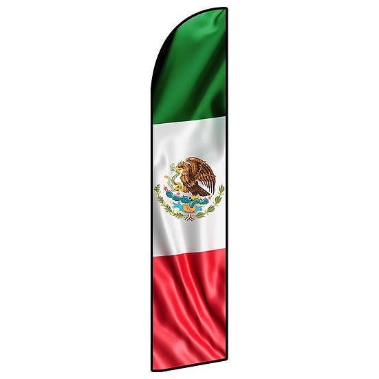 MEXICO FLAG Feather Flag