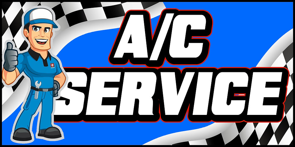 AC SERVICE 3x5 Banner Flag