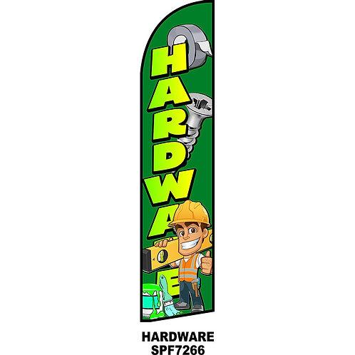 HARDWARE Feather Flag