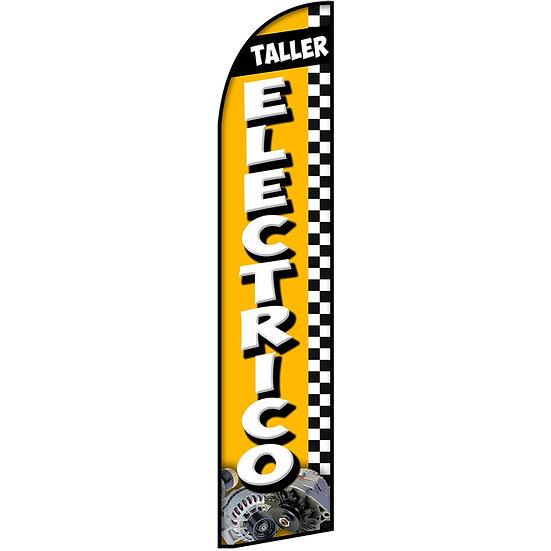 TALLER ELECTRICO Feather Flag
